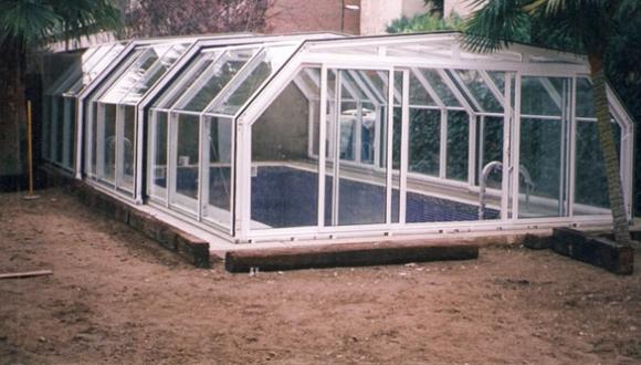 construcción de piscinas climatizadas